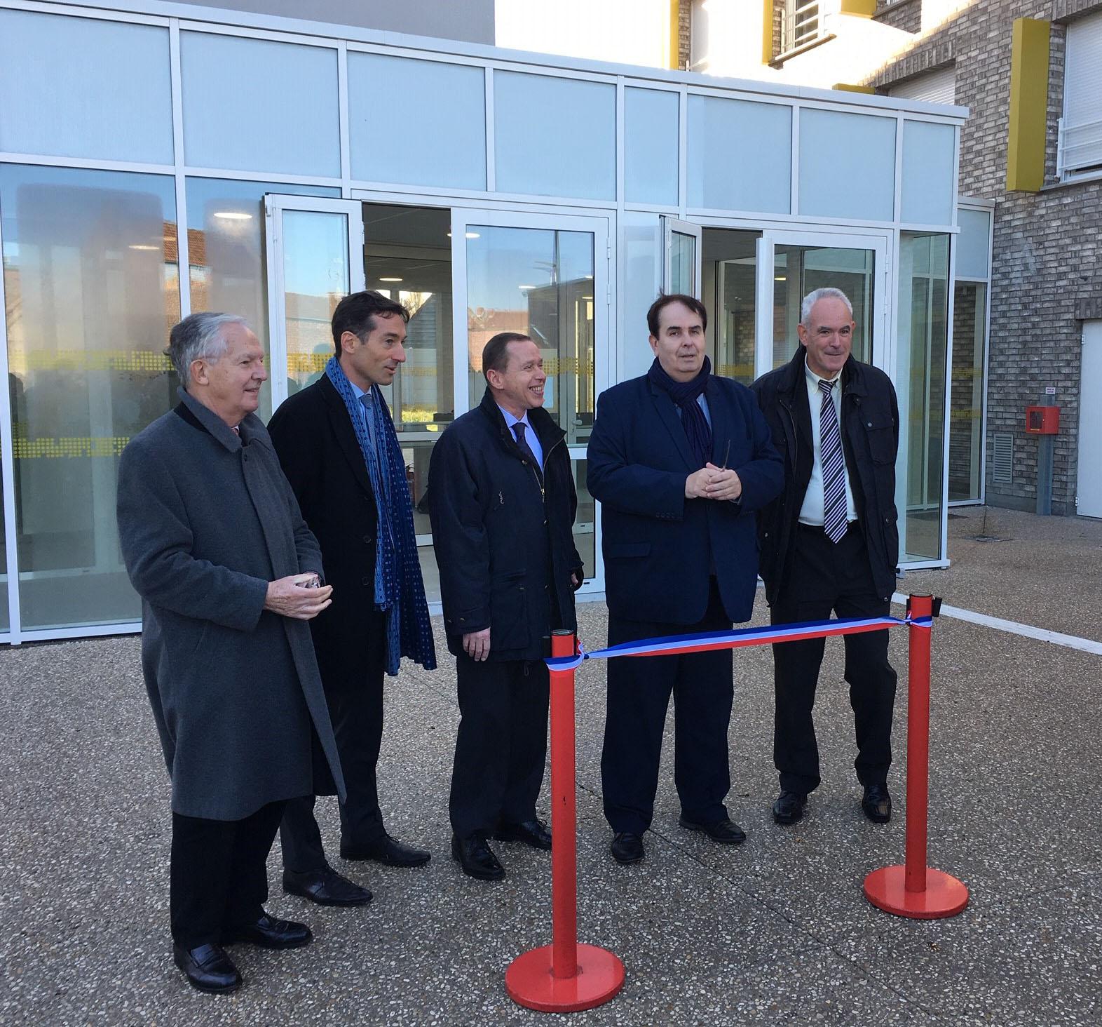 Inauguration Douai SRCJ